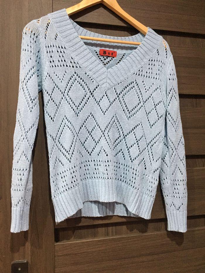 Błękitny sweterek Wrocław - image 1