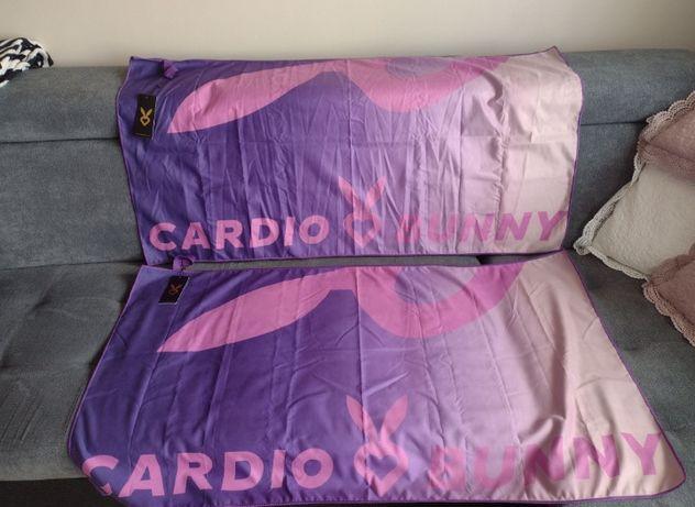 Ręcznik szybkoschnący Cardio Bunny, trening, silownia NOWY