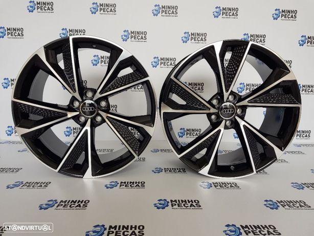 """Jantes Audi 2020 RS7 em 19"""" Black Polish"""