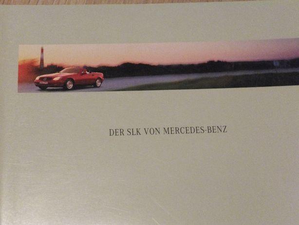Prospekt Mercedes SLK R170 - nówka!