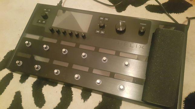 Helix floor line 6 multiefekt gitara bas