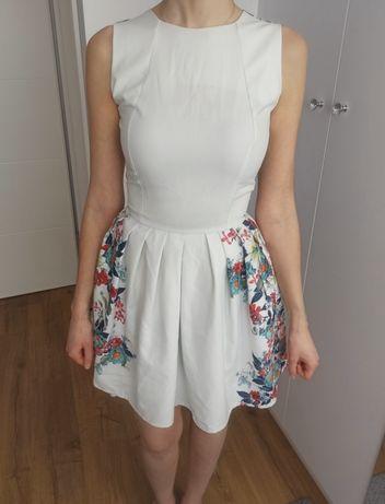 Piękna sukienka Milena Platek rozm. S na wesele, chrzciny