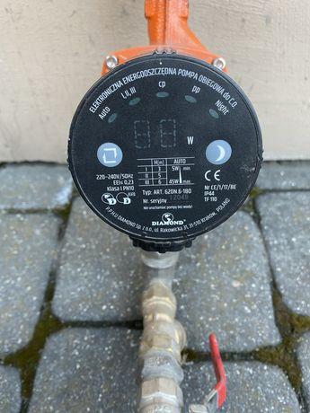 Elektroniczna pompa obiegowa wody do pieca C.O. Diamond