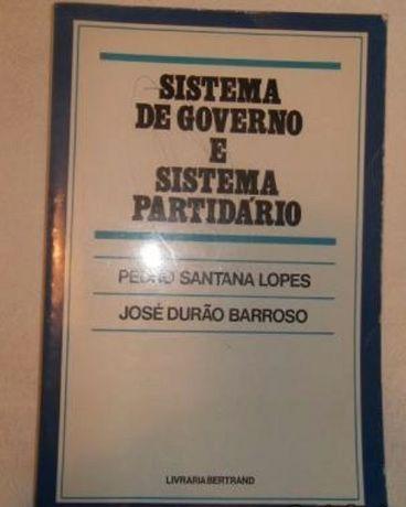 """Livro """"Sistema de Governo e Sistema Partidário"""""""