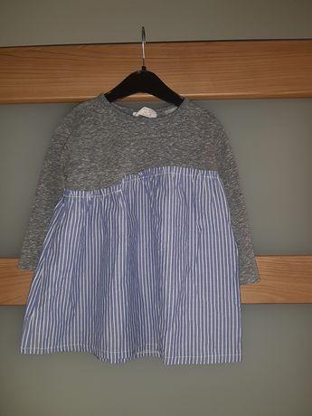 Sukienka ZARA rozmiar 92