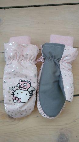 Rękawiczki hello Kitty dziewcznka