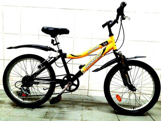 Подростковый горный велосипед AZIMUT ALFA