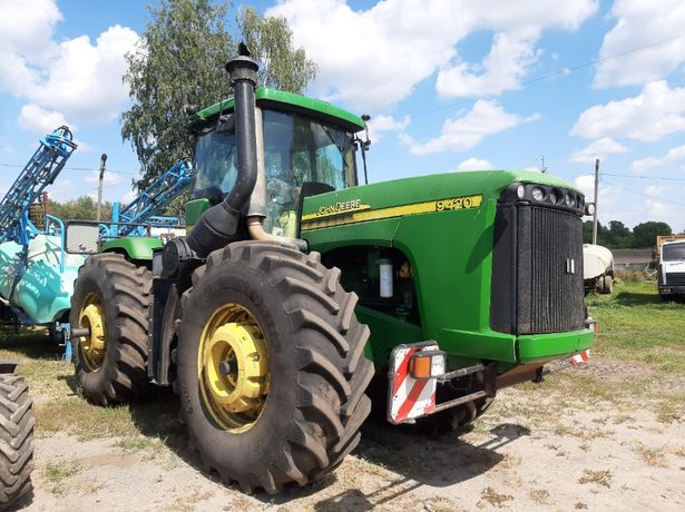 John Deere 9420 трактор колісний