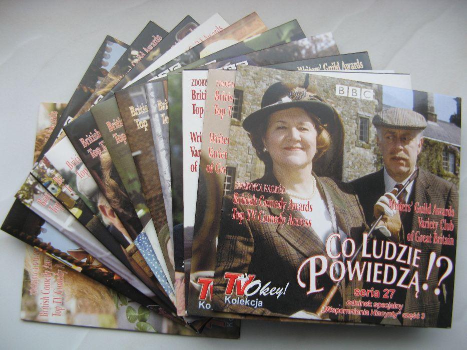 Co ludzie powiedzą!?, komplet 27 DVD, polski lektor Poznań - image 1