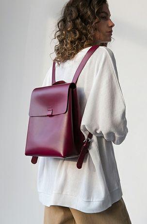 Skórzany plecak damski Sangria od Divalli