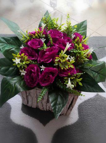 Kompozycje nagrobne, stroiki, ozdoby, sztuczne kwiaty. PROMOCJA!!!