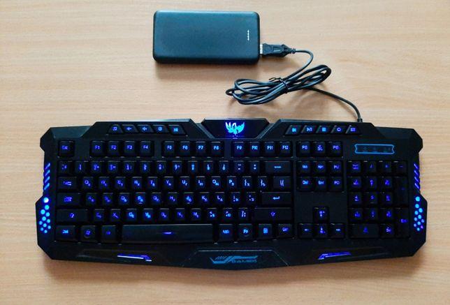 Игровая клавиатура с подсветкой Wired Tricolor M200