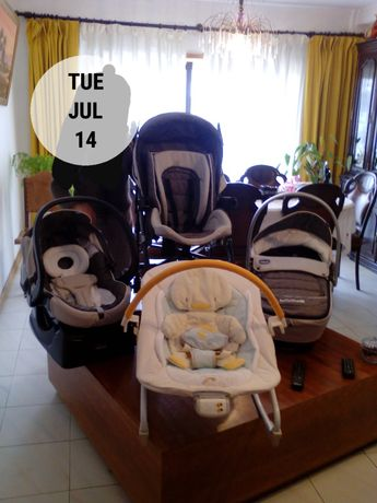 Vendo conjunto de bebé
