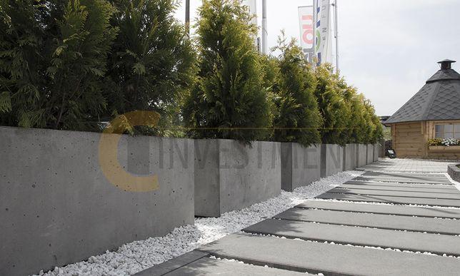 Duża donica betonowa Chiasso 138x50x100 - Donice ogrodowe - Duży wybór