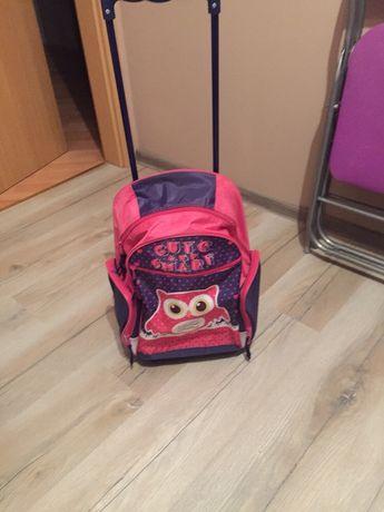 Tornister plecak szkolny na kólkach