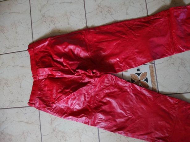 Spodnie skórzane damskie roz.38