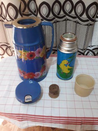 Термоси  для напитків 1л та 0,3л