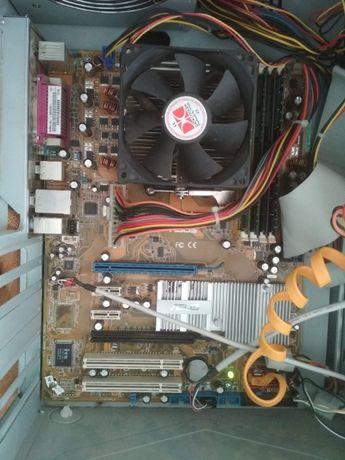 Комплект на AM2 (2 по 2.3 + 4 ГбDDR2)