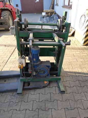 Maszyny do produkcji foteli finek wiertarka gientarka tunel termiczny