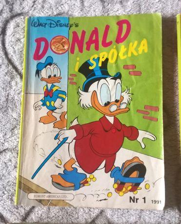 DONALD i spółka komiks dla dzieci 5 numerow , i okazja NR 1