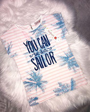 Новая футболка Boboli на девочку 8 лет, 128 см
