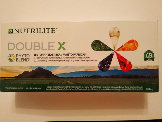 Nutrilite Double X витамины, минералы, фитонутриенты.