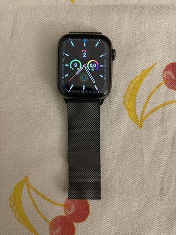 Relógio Apple watch serie 6 44mm com várias bracelete