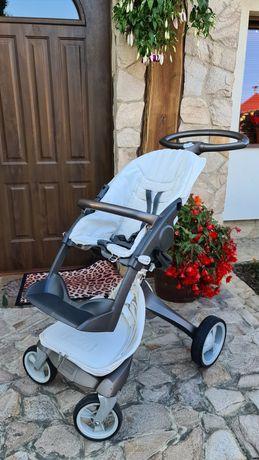 STOKKE skandynawski wózek 2W1, super jakość i cena! Gratisy!