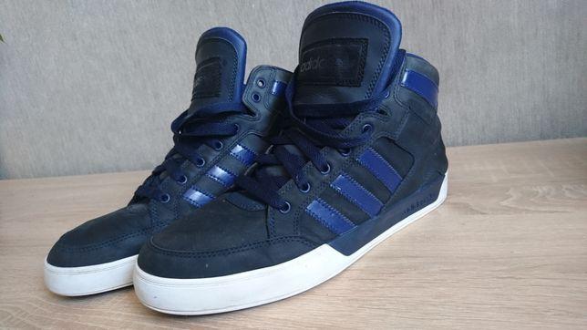 Хайтопы кожа кроссовки кросівки високі Adidas