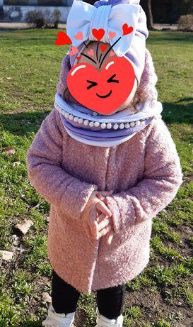 Демисезонное пальто барашек