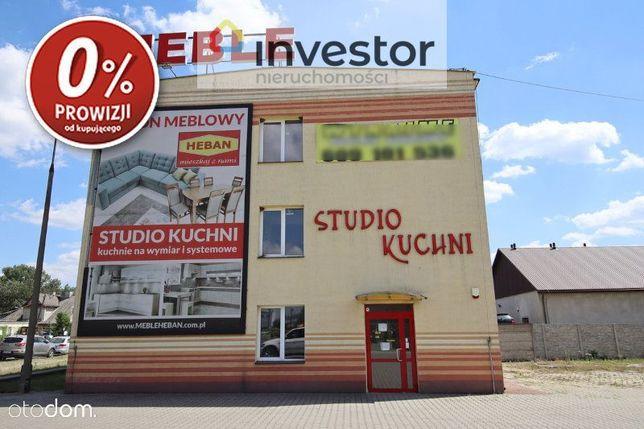 Budynek Biurowo-Handlowy - 400m2 - /Hrubieszów/