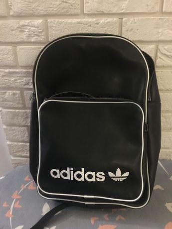 Plecak adidas czarny eko skóra