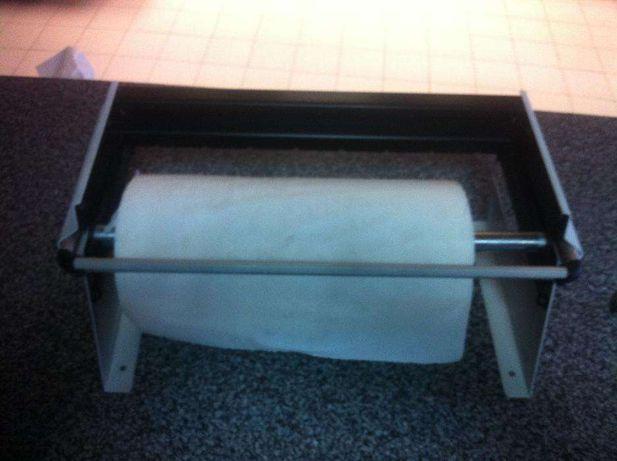 Suporte para rolo de papel de charcutaria/pastelaria (Parede/Móvel)