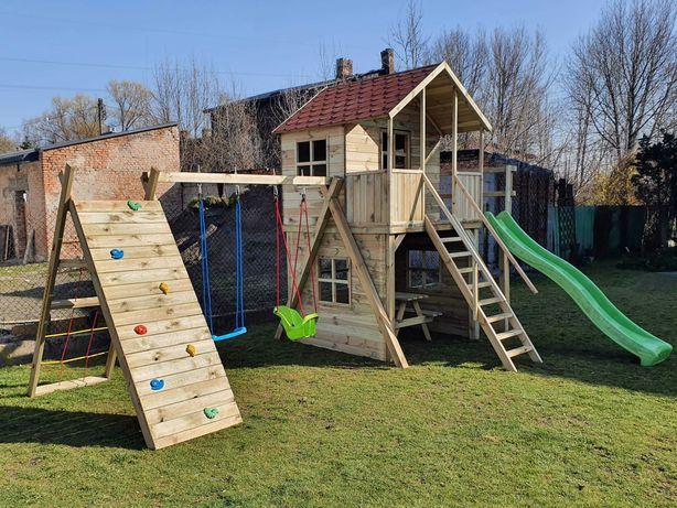 WIOSENNA PROMOCJA !!Drewniany plac zabaw Krzyś dla dzieci do ogrodu