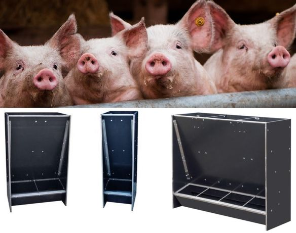 Paszownik/AUTOMAT PASZOWY na sucho dla 48 tuczników-KARMNIKI dla świń