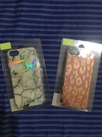 Conjunto 2 capas iPhone marca Claire's NOVAS (também vendo separado)