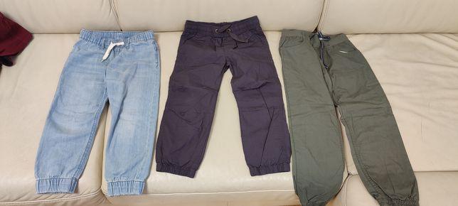Spodnie 104-116,.HM i Lupilu