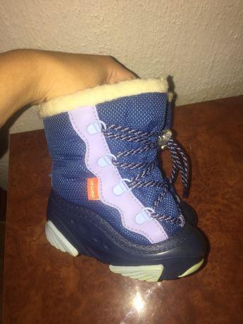 Зимние сапоги ботинки на овчине Demar 22-23