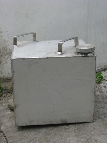 Канистра из АМГ нержавейка на 50 литров СССР