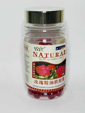 Капсулы Эфирное масло розы (Rose Essence oil).