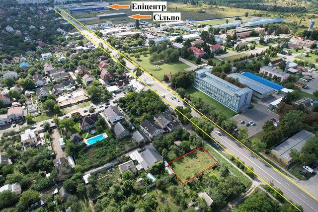 Фасадный участок Боярка 6 сот.