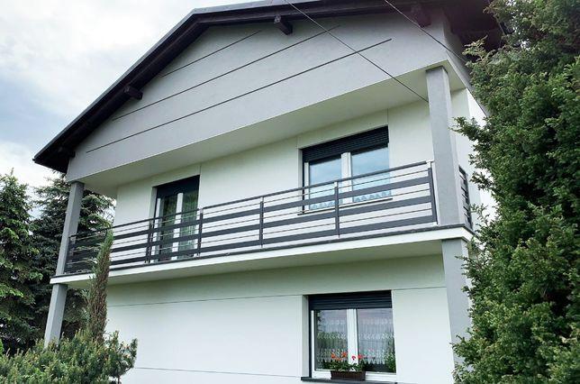 Balustrada balkonowa Fello Diverse aluminium balkon taras barierka
