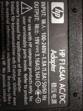 Zasilacz markowy do laptopa, napiecie 19 V