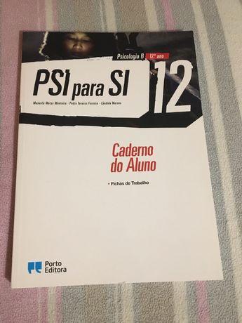 Caderno de atividades PSI para SI 12 ano