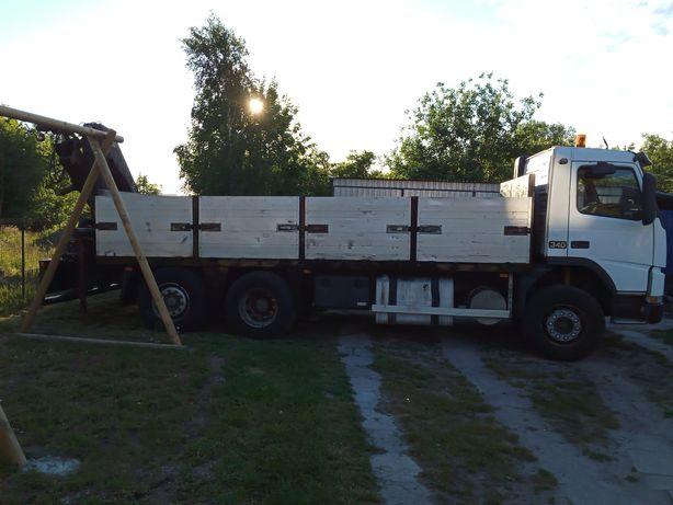 TRANSPORT ciężarowym z HDS oraz busem mebli AGD MOTOCYKLI, mat budowl.