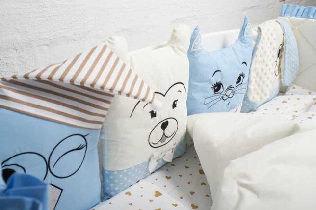 Детский комплект в кроватку дитячий комплект в ліжечко
