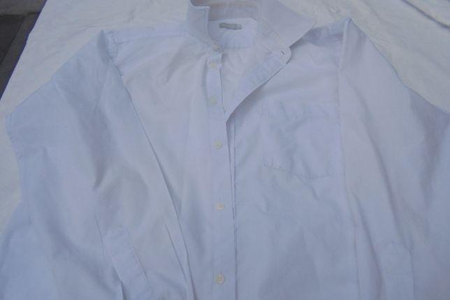 seis camisas brancas Basics