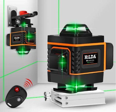 Лазерный 4D уровень HILDA. 16 линий Оригинал