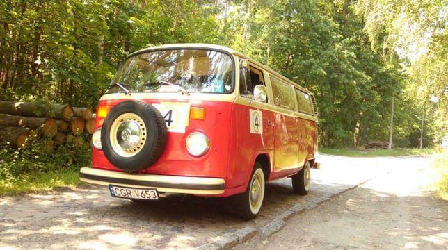 Vw T2 Auto do wynajęcia, reklama, sesja zdjęciowa Typ 2 Ogórek Garbus