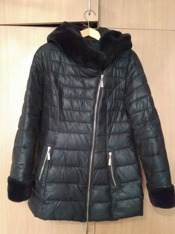 Куртка , курточка женская зимняя бу р.48
